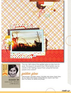 CREATE: Issue 16, September 2015 by Scrapbook Generation - issuu