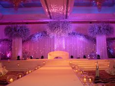 A simple wedding stage
