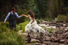 Colorado Wedding from Kevin Von Qualen and Jason + Gina Photographers
