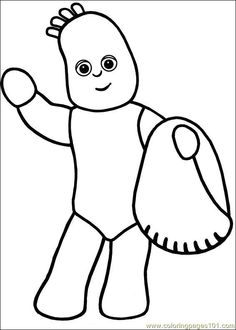 23 In the night garden printable coloring pages for kids. Find on coloring-book thousands of coloring pages.