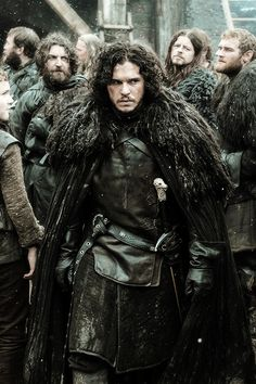 "Jon Snow — Game of Thrones 4.07 ""Mockingbird"" [x]"