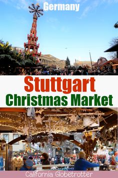 What to See, Do & Eat at the Stuttgart Christmas Market – California Globetrotter Stuttgart Christmas Market, German Christmas Markets, Christmas In Germany, Christmas Fun, Holiday, Christmas Travel, Xmas, Europe Destinations, Europe Travel Tips