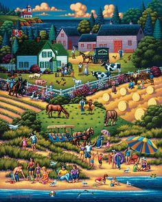 Prince Edward Island | Dowdle Folk Art