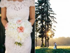 A rustic and elegant barn wedding by Love Song Photo - Wedding Party