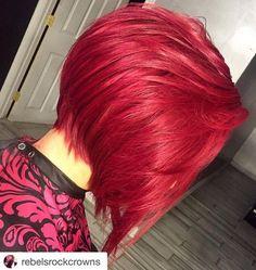 cabello rojo rojo