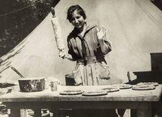 Donut Girl in WWII