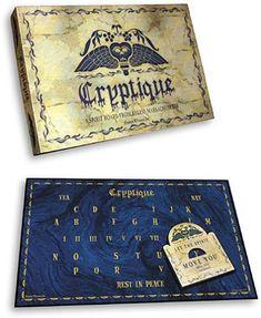 CRYPTIQUE Spirit Board Ouija Occult