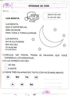 Apostila de Educação Infantil - Letramento: Língua Portuguesa de 5 e 6 anos Homeschool, Bullet Journal, Classroom, Kids, Preschool Literacy Activities, Letter E Activities, Reading Activities, Language Activities, Cursive Letters