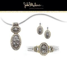 O Link Filigree Collection from John Medeiros Jewelry! Made in RI. Handcrafted in America!