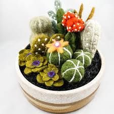 Image result for needle felting pots
