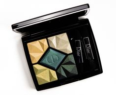 Dior Emerald (347) High Fidelity Colours & Effects Eyeshadow Palette Review, Photos, Swatches