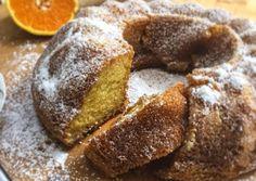 Κέικ πορτοκαλιού με ελαιόλαδο και γιαούρτι