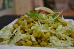 Day 28 - Green Pea 'Sundal' (Sauteed green pea with coconut & green mango)