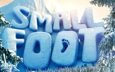 Download wallpapers Smallfoot, 3d logo, 2018 movie, adventure, 3D-animation