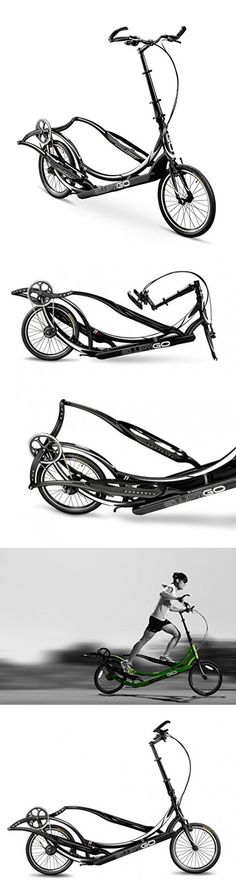 ElliptiGO 11R - The World's First Outdoor Elliptical Bike (Black)