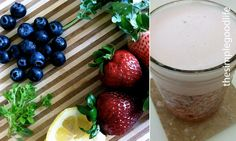 healthy and refreshing smoothie