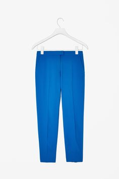 Neat-fit trousers