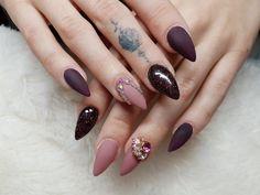 Gemstones nail art