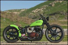 Love this. Only I want to use a 650 or a 750. Custom Built Motorcycles : Bobber 1981 kawasaki kz 440 ltd a custom bobber