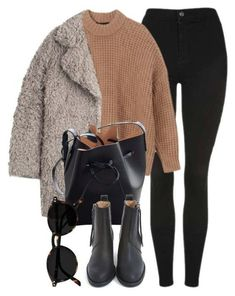 Apr 2020 - A fashion look from December 2017 by laurenmboot featuring Zadig & Voltaire, Topshop, Acne Studios and Mansur Gavriel Winter Fashion Outfits, Fall Winter Outfits, Look Fashion, Autumn Winter Fashion, Womens Fashion, Classy Outfits, Chic Outfits, Trendy Outfits, Polyvore Casual