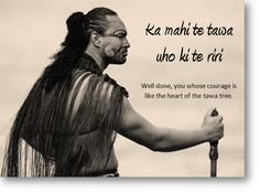 The Maori Warrior, 'Brave' Proverbs For Kids, Maori Words, Maori Symbols, Maori Designs, Hawaii, The Best Revenge, Maori Art, Kiwiana, Early Childhood Education