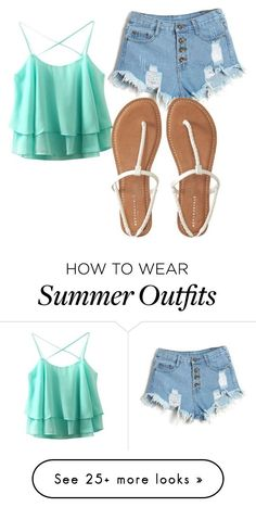 Summer Outfits : Summer outfit by denisepad on Polyvore featuring AÃropostale