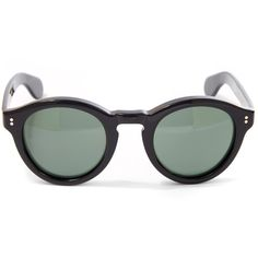 Moscot Keppe Sunglasses ($310) ❤ liked on Polyvore featuring accessories, eyewear, sunglasses, acetate sunglasses, retro glasses, rounded sunglasses, lens glasses and moscot eyewear