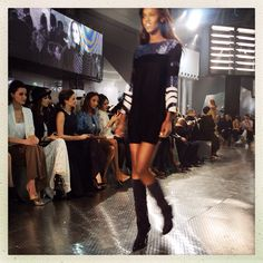 H&M show. Paris Fashion Week