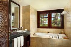 WEBSTA @ ayodyabali - A contemporary marble bathroom invites you to indulge in a private spa-like experience at Ayodya Resort Bali. #Ayodyagrande #Ayodyaexperience #hotel #travel