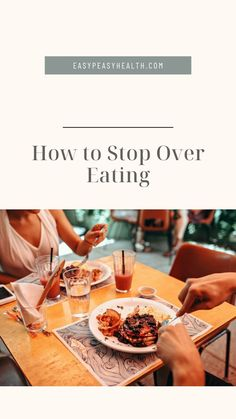 How to Stop Over Eating? First, define what is overeating! Overeating is an excess food consumed concerning the energy that the human body expends. Readthe full article. Eating Ice, Clean Eating, Eat Slowly, Stop Overeating, Fiber Rich Foods, Eating Vegetables, High Protein Snacks, Mindful Eating, How To Eat Less