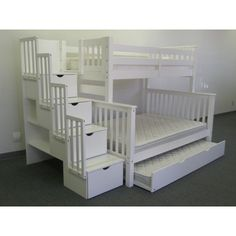 Features:  -Mission style.  -Child-safe.  -Bunk bed model has been tested by an independent laboratory.  -Solid brazilian pine - no particle board or mud.  -Universal: Yes.  -Beds can be converted int