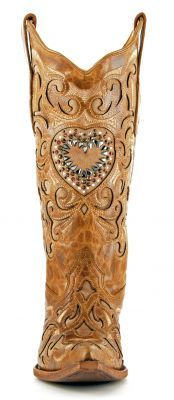 NEW! Womens Corral Maipo Crystal Boots Sand #C1151