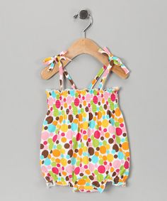 Take a look at this Yellow Gumball Bubble Bodysuit - Infant by Zutano on #zulily today!