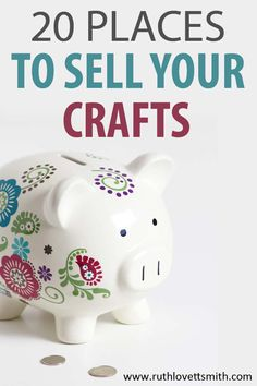 Check out these 20 places to sell your crafts. Grow your craft business selling … Check out these 20 places to sell your crafts. Grow your craft business selling crafts from home. Learn how to start a craft business and where to sell your crafts. Crafts To Make And Sell, Sell Diy, Crafts For Kids, Arts And Crafts, How To Make, Kids Diy, Work From Home Crafts, Selling Crafts Online, Craft Online