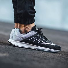 Nike Air Zoom Elite 8 'Black/White-Wolf Grey-Dark Grey'  available now in-store and online @titoloshop Berne | Zurich