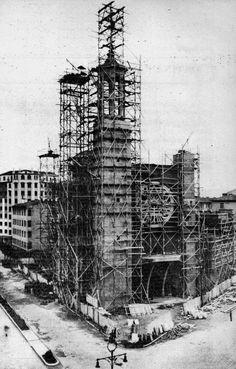 1952.San Francisco Javier en construcción.