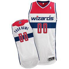 Adidas Washington Wizards Revolution 30 Swingman Custom Home Jersey $109.99