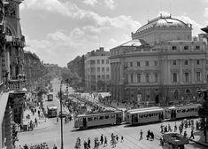 Budapest, Louvre, Retro, Building, Travel, Old Photography, Fotografia, Viajes, Buildings