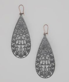 Take a look at this Gray The High Rise Earrings by dAffadowndily on #zulily today!