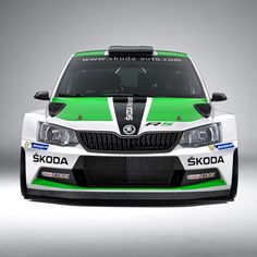 The Fabia is based on ŠKODA's spectacular new production Fabia and is the successor of the Fabia Super which went down as the most successful rally car in the 114 years of ŠKODA Motorsport's history Vw Cars, Race Cars, Car Design Software, Rallye Automobile, Car Paint Jobs, Suzuki Swift, Super Sport Cars, Super Cars, Skoda Fabia