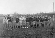 """The Tigers of Hamilton football team - Football - Wikipedia, the free encyclopedia  The """"Tigers"""" of Hamilton, Ontario, circa 1906. Founded 1869 as the Hamilton Foot Ball Club, they eventually merged with the Hamilton Flying Wildcats to form the Hamilton Tiger-Cats, a team still active in the Canadian Football League.[88]"""