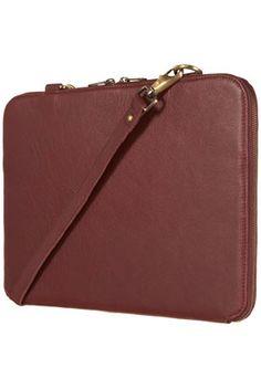 Leather Laptop Case $100.00