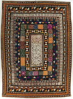 Ralli quilt, probably made in Cholistan, Punjab, Pakistan, circa 1975-2000, purchase made possible through James Foundation Acquisition Fund...