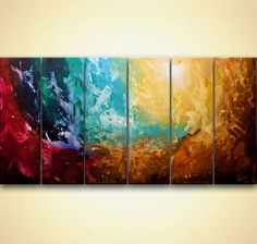 Original earth Abstract Painting Huge Abstract Art Apollo 5 Acrylic art from Osnat ready to ship ready to hang Painting Gallery, Modern Painting, Abstract Artists, Cityscape Art, Modern Art Paintings Abstract, Abstract Painting, Painting, Abstract Art, Abstract