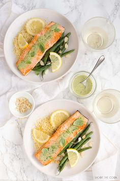 Pan fried Salmon with Basil Sauce is one of the easiest, tastiest dinners you can make! This salmon is a restaurant standard dish made at home in 30 minutes. Restaurant Dishes, Restaurant Recipes, Fall Recipes, Healthy Recipes, Simple Recipes, Pan Fried Salmon, Carpaccio, Food Photography Tips, Aesthetic Food