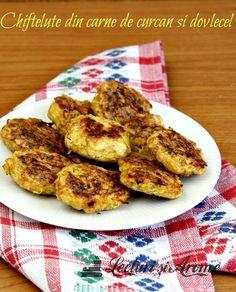 Chiftelute din carne de curcan si dovlecel (la cuptor) Sandwiches, Tandoori Chicken, French Toast, Good Food, Gardening, Breakfast, Ethnic Recipes, Salads, Meals