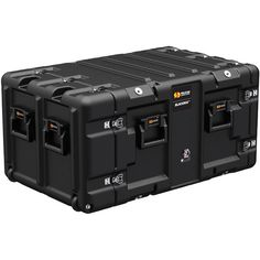 Keep track of your tools and parts with the black protective case from Pelican. The protective case is in width and in depth. Features of this protective case include: positive anti-shear latches Military Box, Military Gear, Pelican Case, Spaceship Design, Prop Design, Mechanical Design, Edc Gear, Gadgets, Truck Accessories