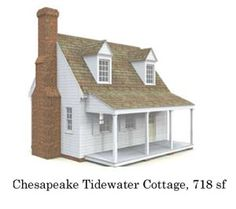 A Collection Of Well Designed Small Cottage Plans With Elevations And Floor  Plan Images