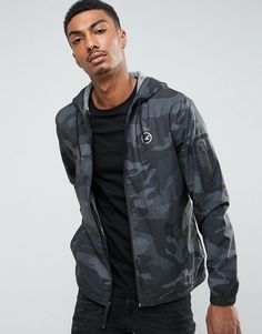 Find the best deals for your next Hollister Windbreaker Jacket Jersey Lined in Black Camo in Black camo at Label Therapy. Shop the best fashion price comparison site to find more sales from Hollister