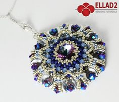 Tutorial Kalinda Pendant  Beading tutorial with Zoliduo beads
